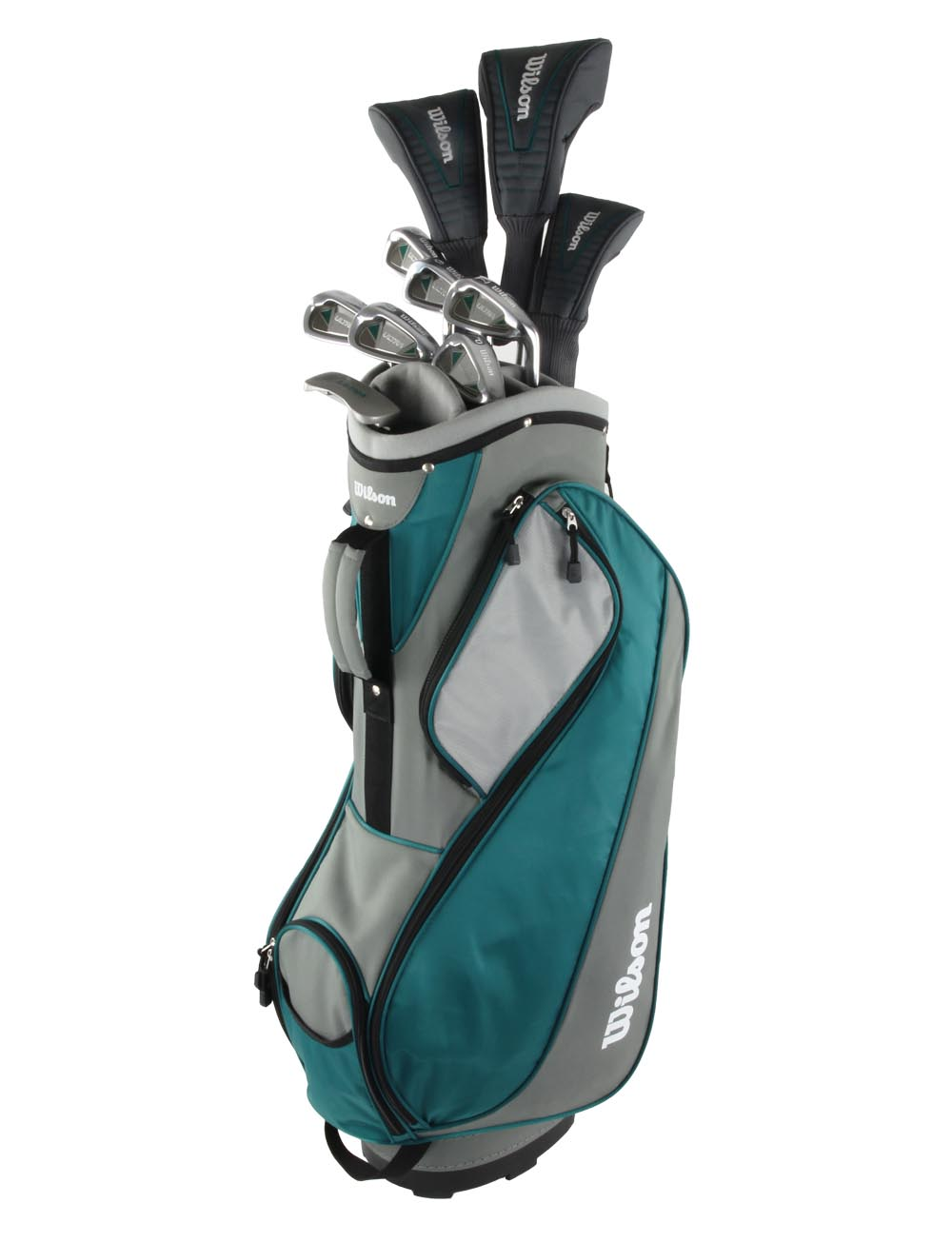 Wilson Ultra Ladies Right Handed Golf Club Set w/ Bag - Teal