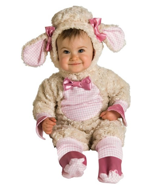 Lucky Lil Lamb Romper Costume (12-18 Months)