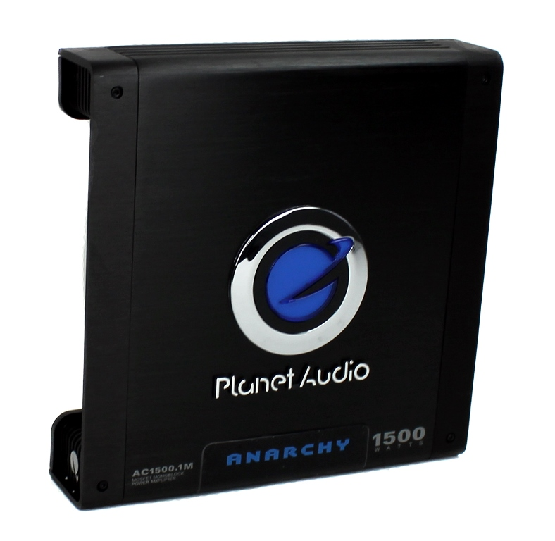 AC15001M�Planet Audio AC1500.1 1500 Watt Monoblock Amplifier