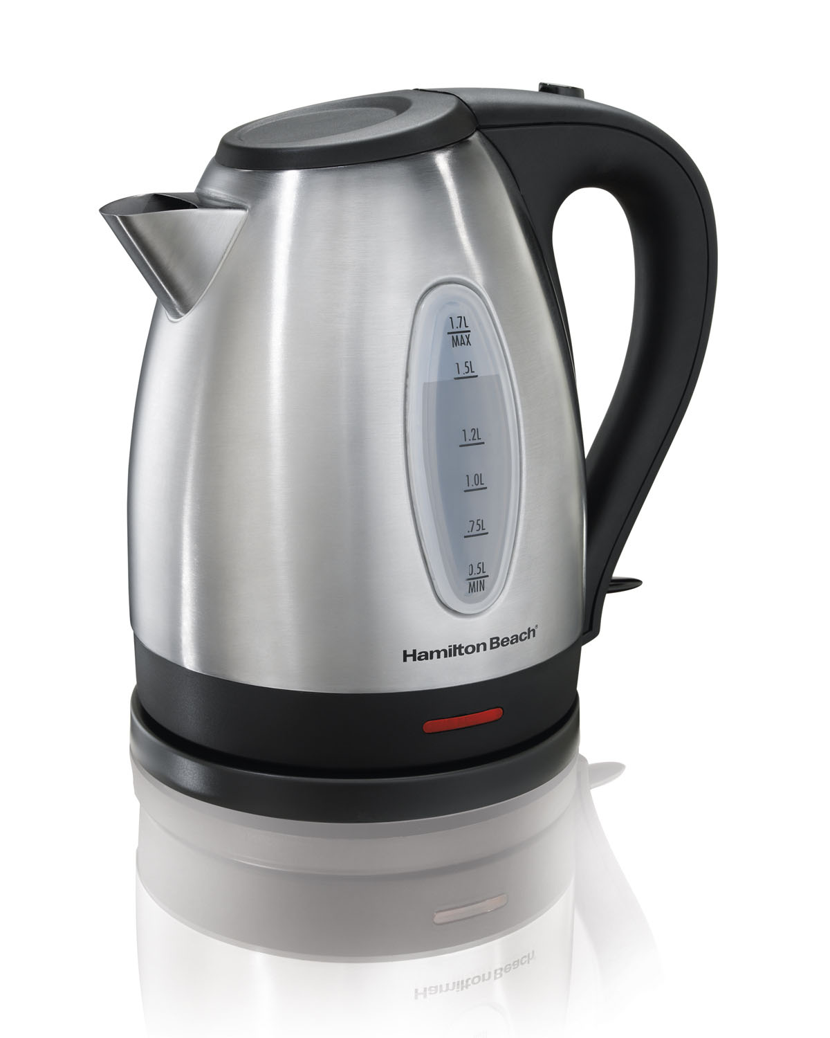 Hamilton Beach 1500W 1.7 Liter Stainless Steel Electric Kettle | 40880E