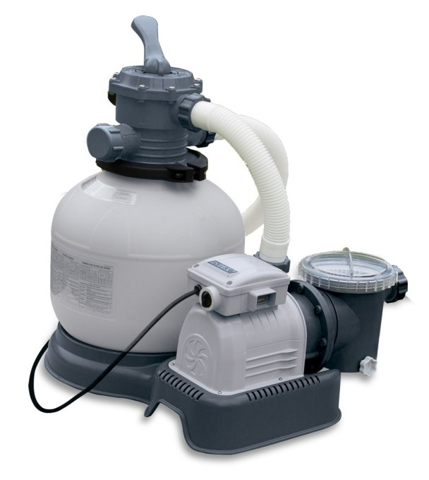 Intex Kystal Klear Sand Filter 2800 GPH Pool Pump | 28647EG (56673EG)