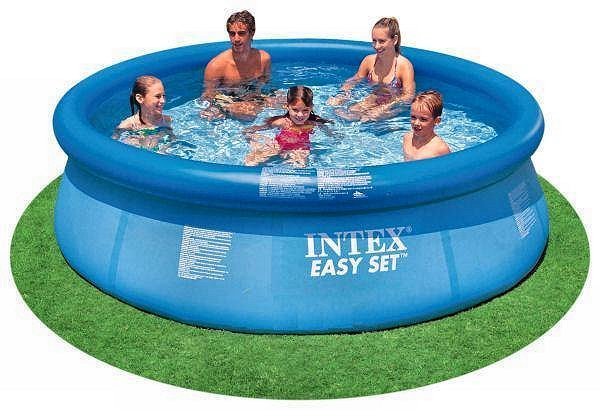 "Intex 10' x 30"" Easy Set Above Ground Swimming Pool"