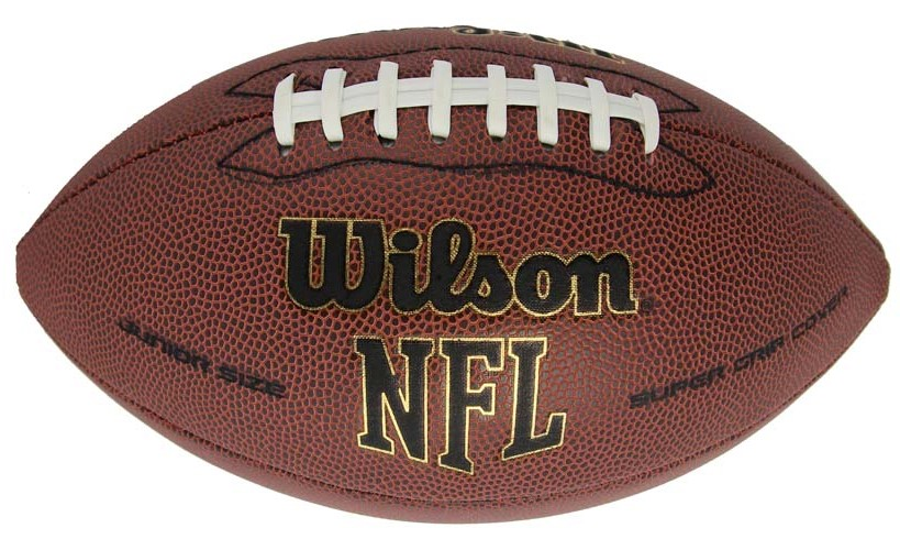 Wilson NFL Junior Football w/ Composite Leather Super Grip Cover
