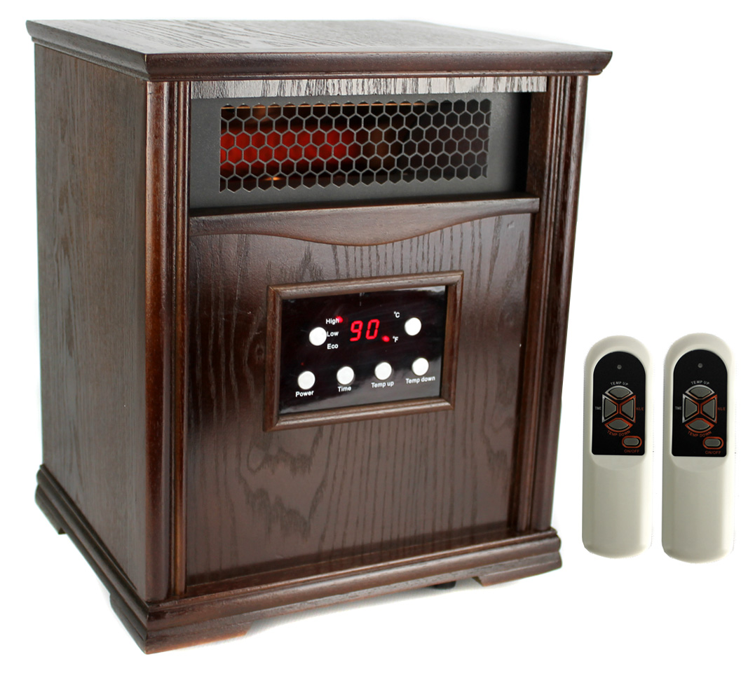 LifeSmart LifePro 1,500W Infrared Quartz Heater | LS-1001HH