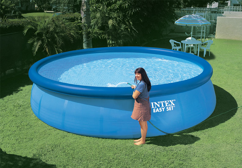 "28160EH�Intex 15'x36"" Easy Set Above-Ground Pool 