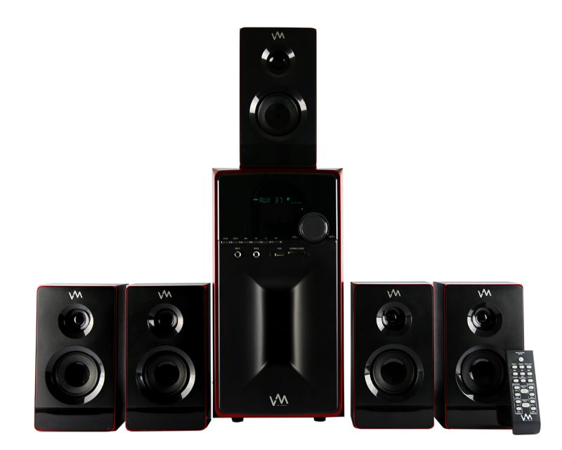 VM Audio 5.1 Multi Media Surround Sound System | EXMS581