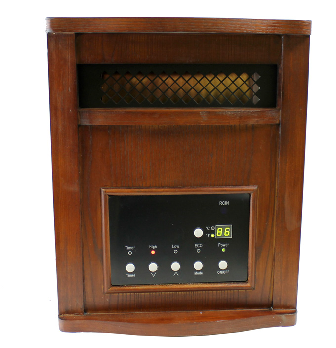 LS-PP1800-6WCH�LifeSmart 1500W Plus Infrared Quartz Heater | LS-PP1800-6WCH