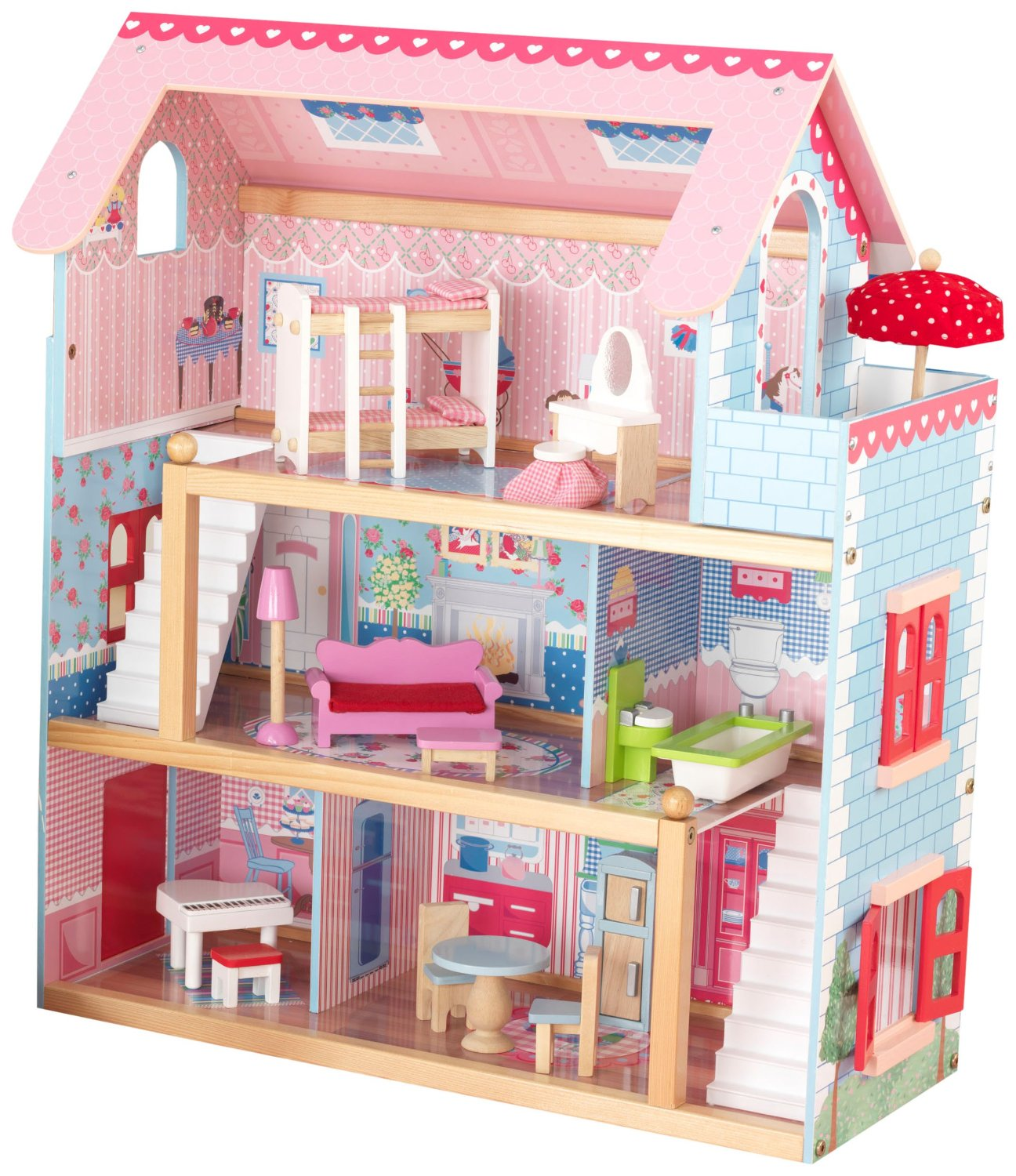 KidKraft Chelsea Wooden Play Dollhouse | 65054