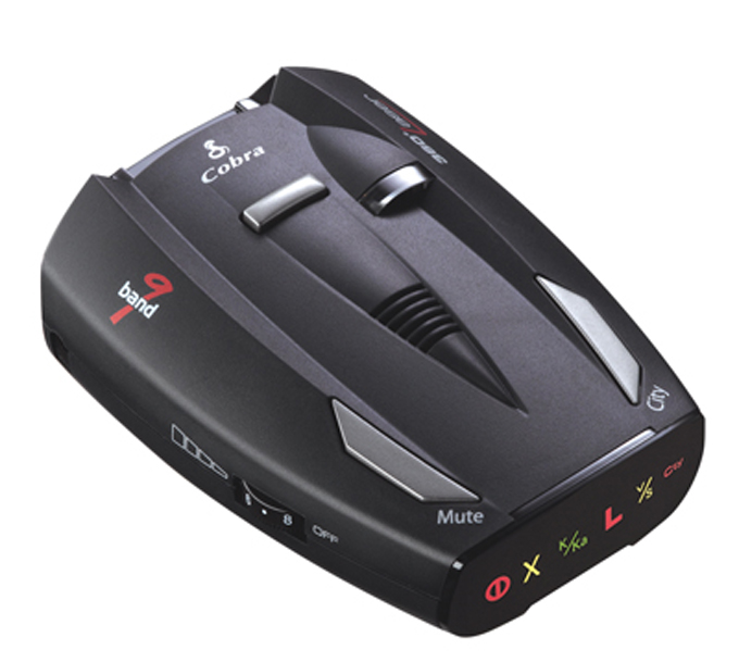 Cobra ESD-7100 9 Band 360� Digital Radar/Laser Detector w/ Traffic Alerts