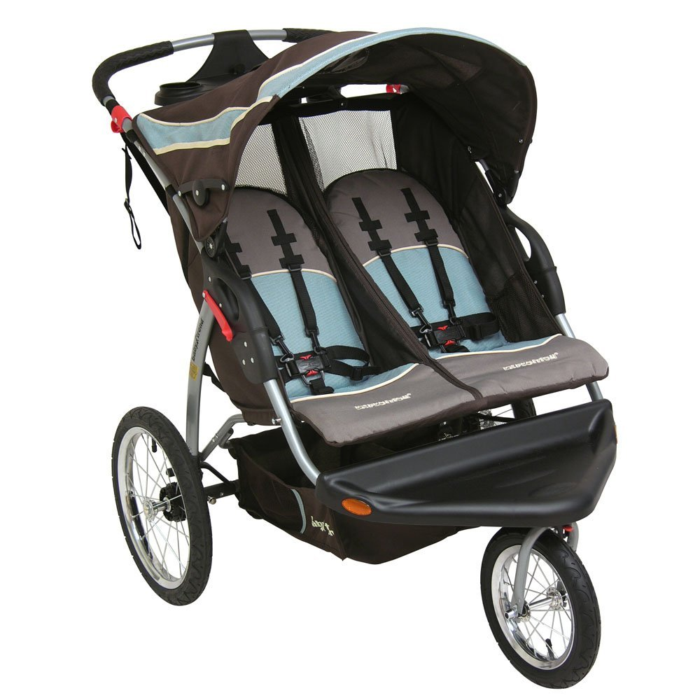 Baby Trend Expedition Double Jogging Swivel Stroller