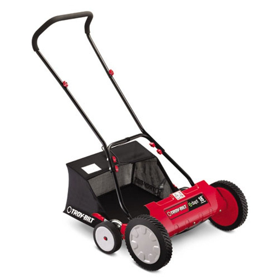 MTD TBR18 18-Inch Push Reel Lawnmower with Grass Catcher