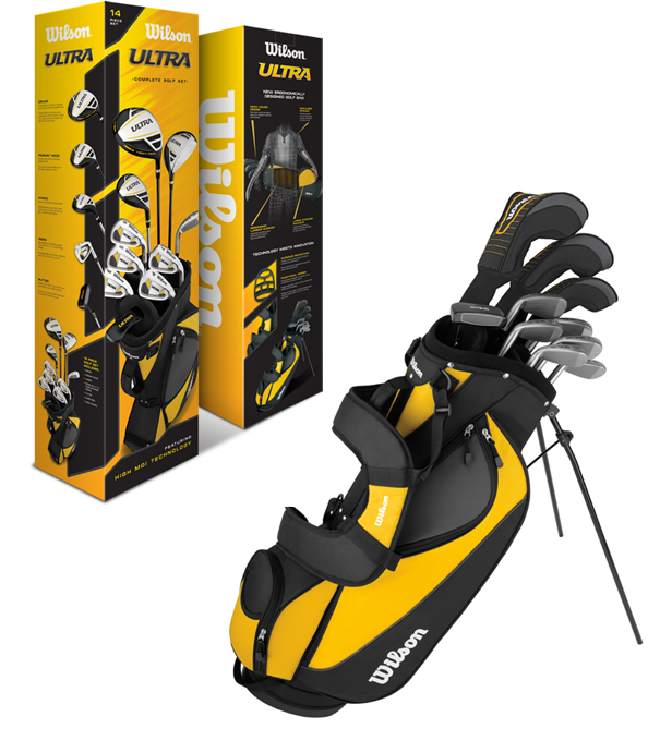 Wilson Ultra Golf Club Set w/ Bag - WGGC25000