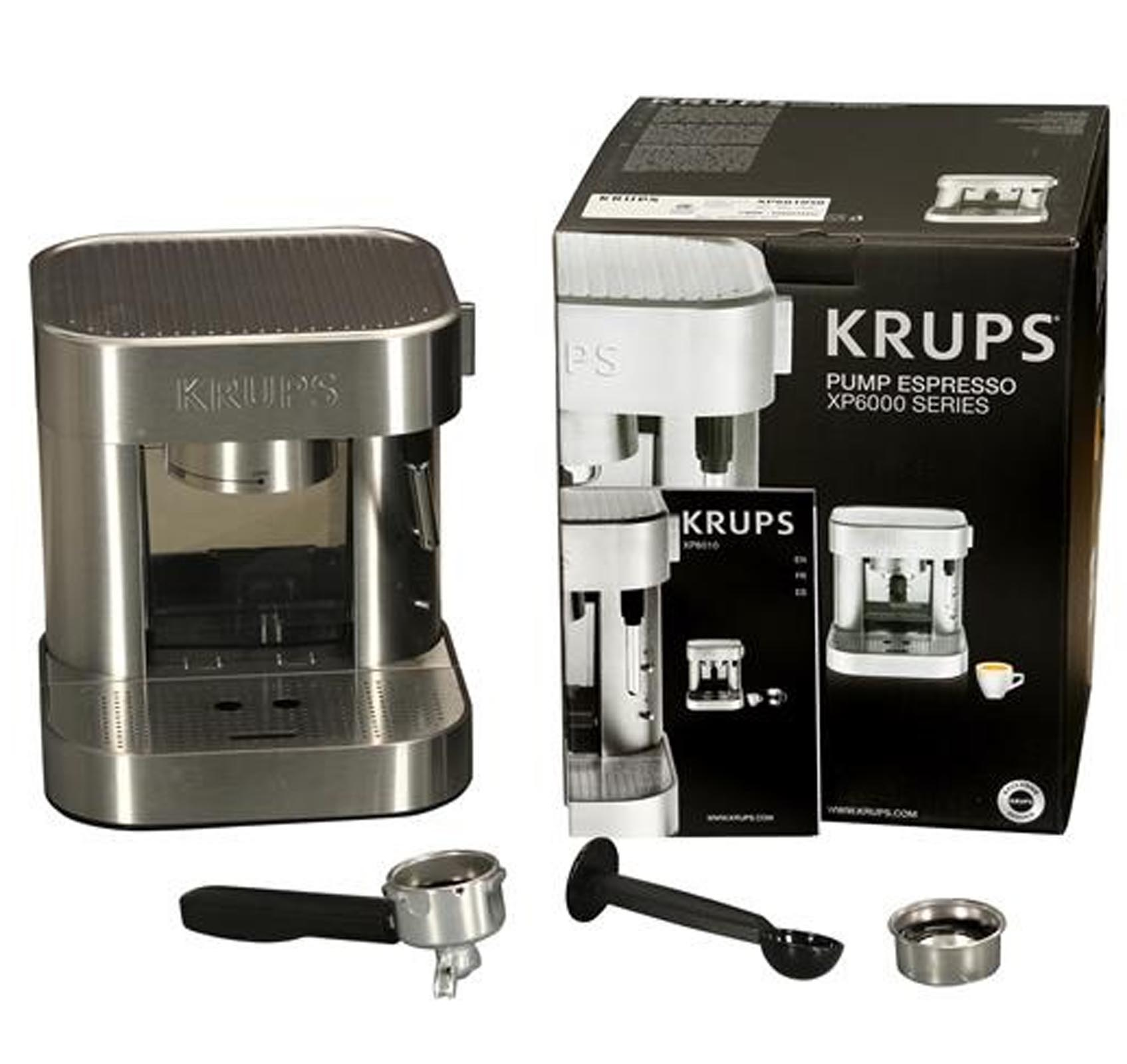 Krups Stainless Steel Mechanical Espresso Machine | XP601050