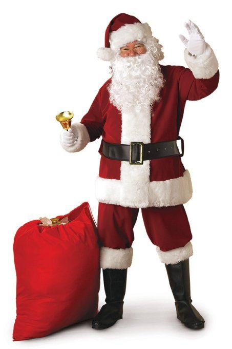 Crimson Regal Santa Suit | X-Large