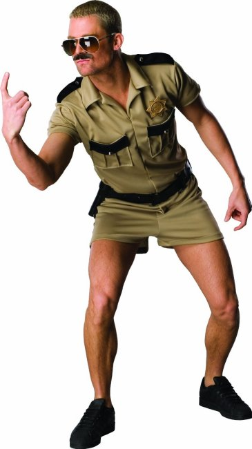 Rubies Reno 911 Cop Lt. Dangle Police Officer Costume | Adult Mens