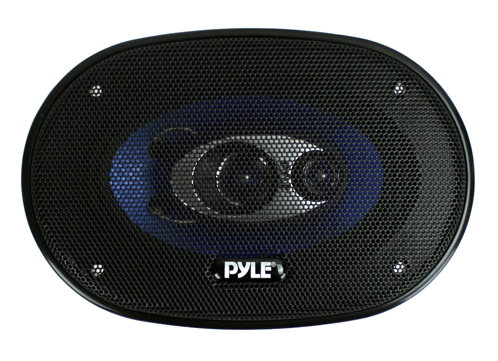 PL463BL�Pyle PL463BL 4x6-Inch 240W Three-Way Speakers (Pair)