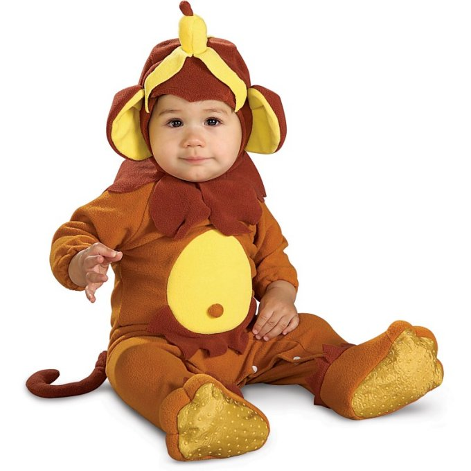 Monkey Romper Costume | Newborn
