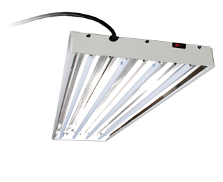 HYDROFARM EnviroGro 4FT 4 Tube Fixture w/ Lights | FLT44