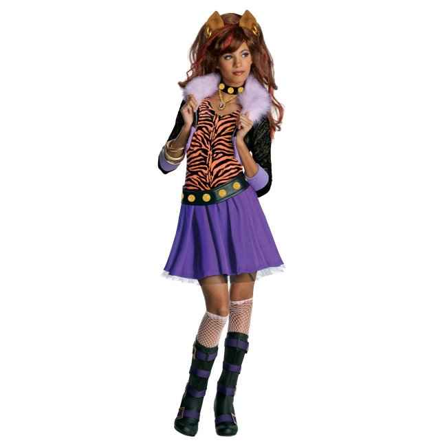 Monster High Clawdeen Wolf Girls Costume | Medium