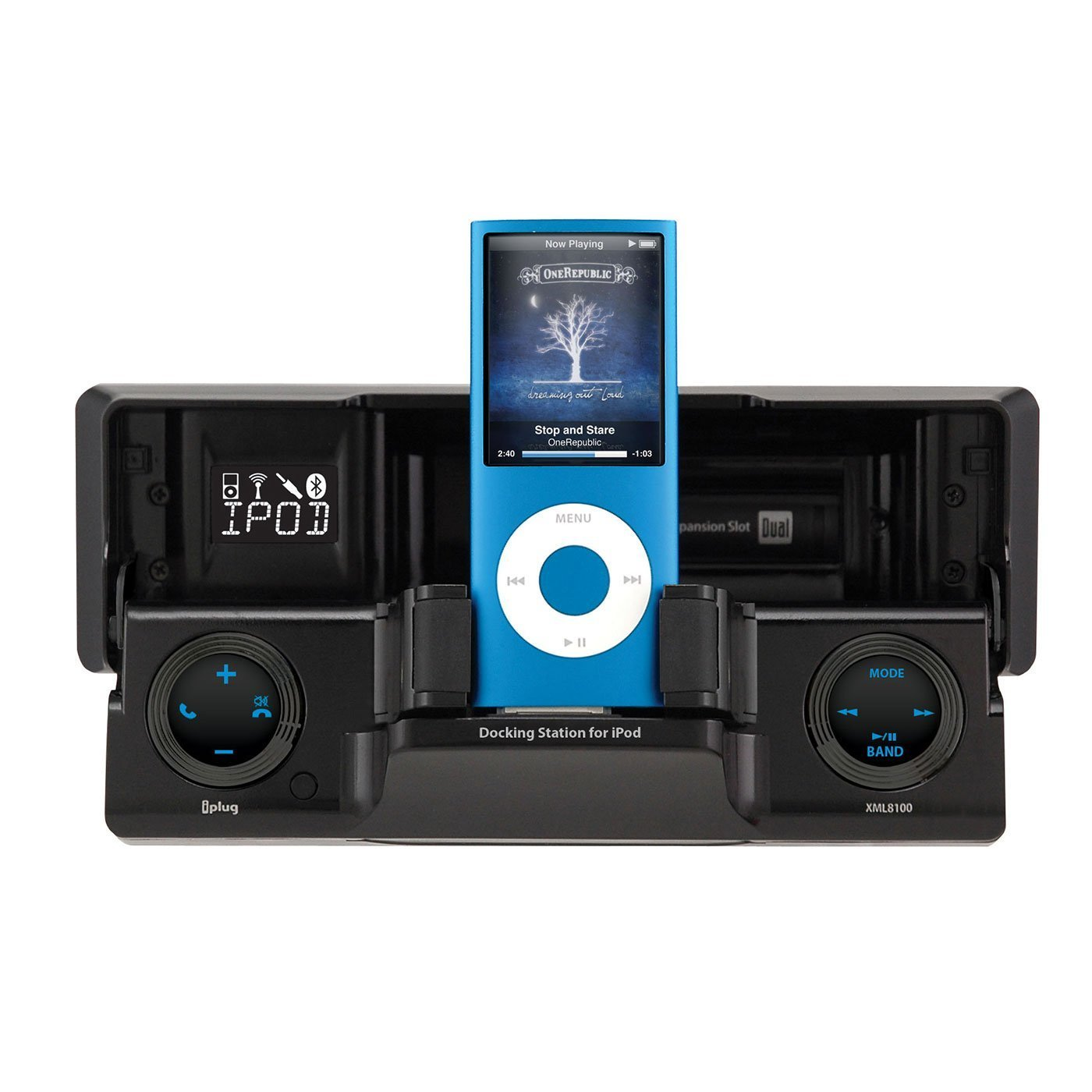 XML8110�Dual XML8110 In-Dash Radio Receiver with iPod Docking Station