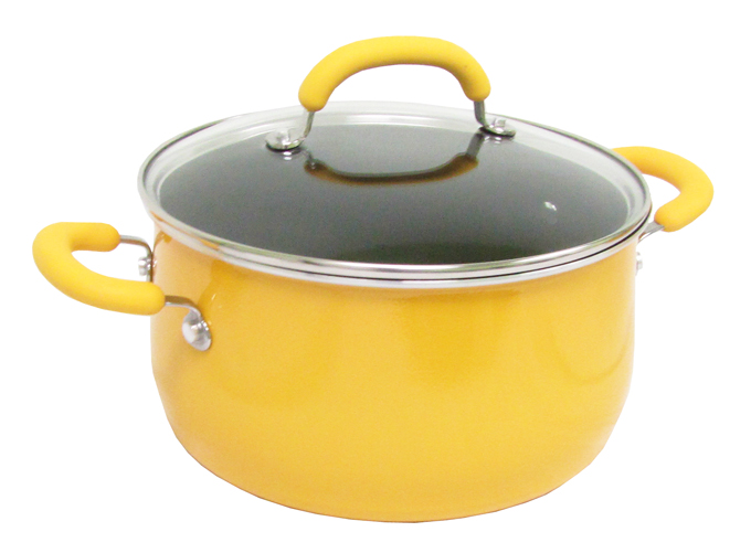 19442-YELLOW�Rachael Ray 10-Piece Cookware Set - Yellow | 19442-YELLOW