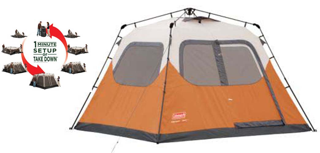 Coleman 6-Person Waterproof Tent | 2000010194-C