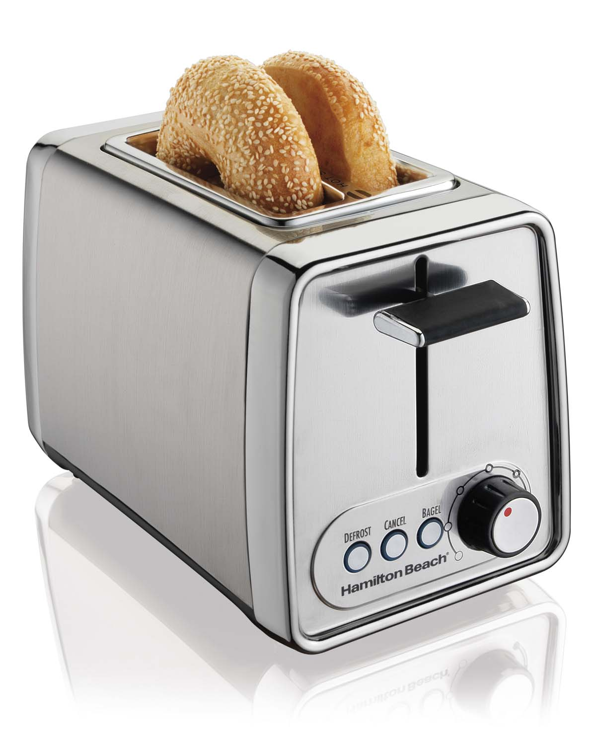 Hamilton Beach Modern Chrome Toaster | 22791