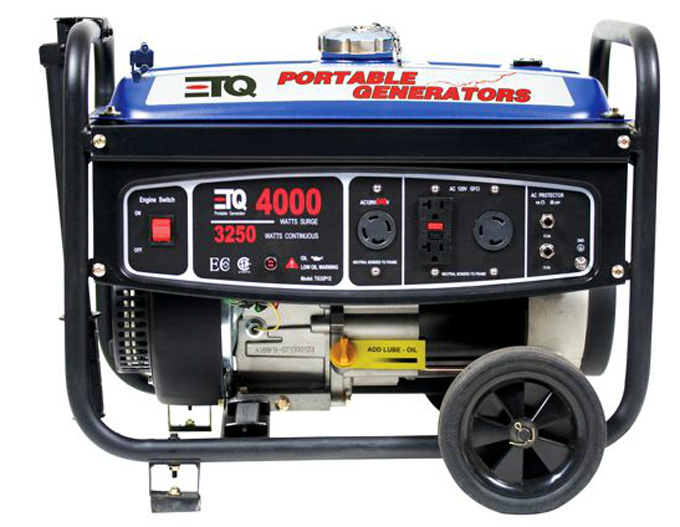 ETQ TG32P12 4,000W 7 Hp 207cc 4 Cycle Gas Powered Portable Generator