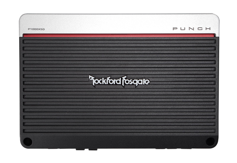 P1000X5D�Rockford Fosgate P1000X5D 1000 Watt 5-Channel Car Audio Amplifier