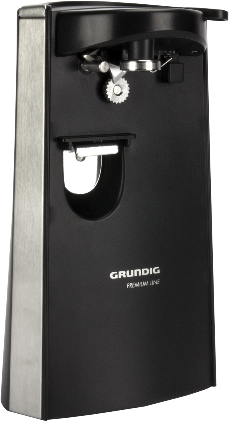 Grundig Electric Can Opener w/ Knife Sharpener | 1807101U