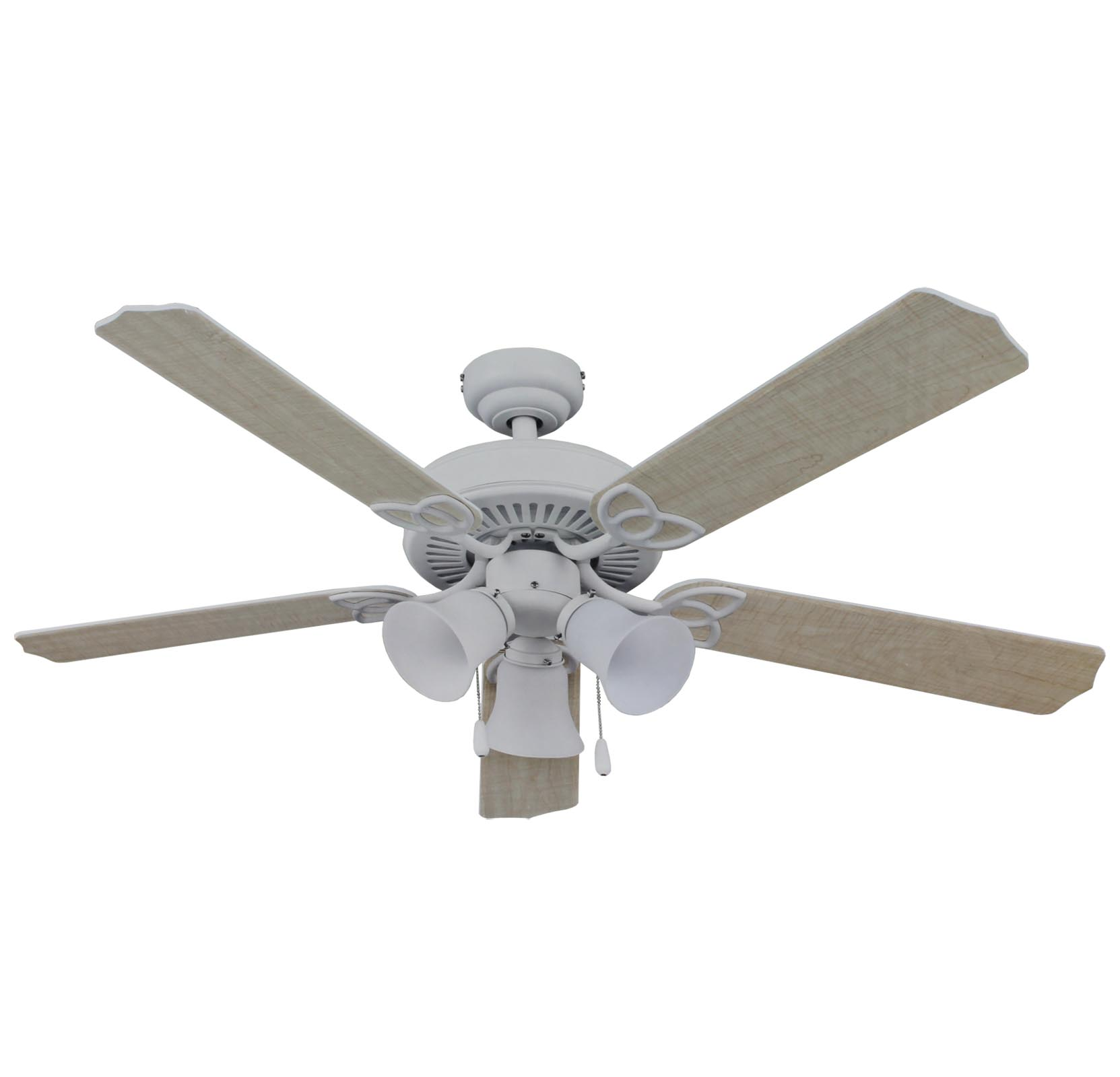 "Living Traditions 52"" Home Ceiling Fan w/ Light 