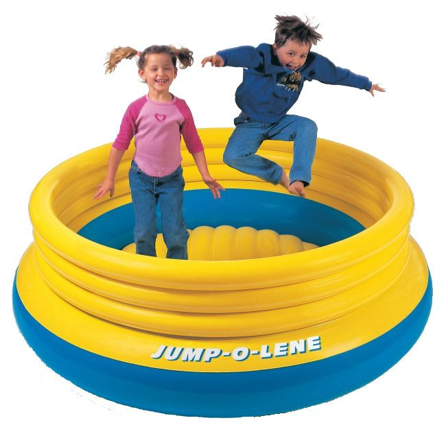 Intex Inflatable Jump-O-Lene Kids Bouncer | 48267EP