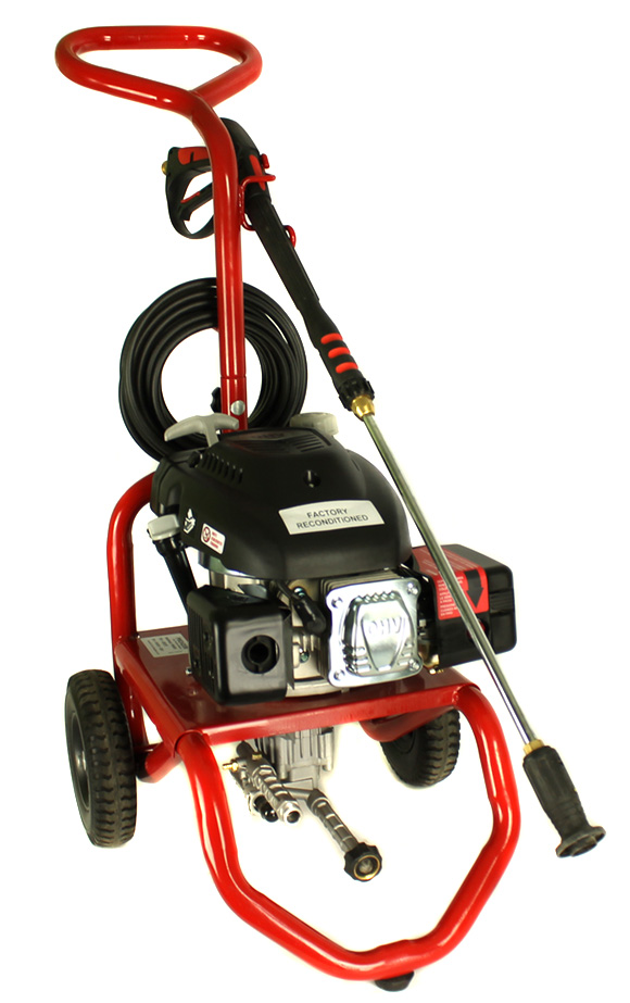 PowerWasher PW2420 2400 Psi 2.0 Gpm 140cc Gas Power Pressure Washer (Refurbished)