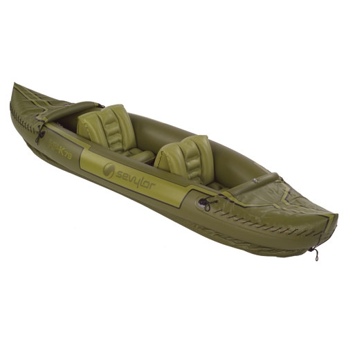 Sevylor Tahiti 2-Person Fishing Inflatable Kayak Boat