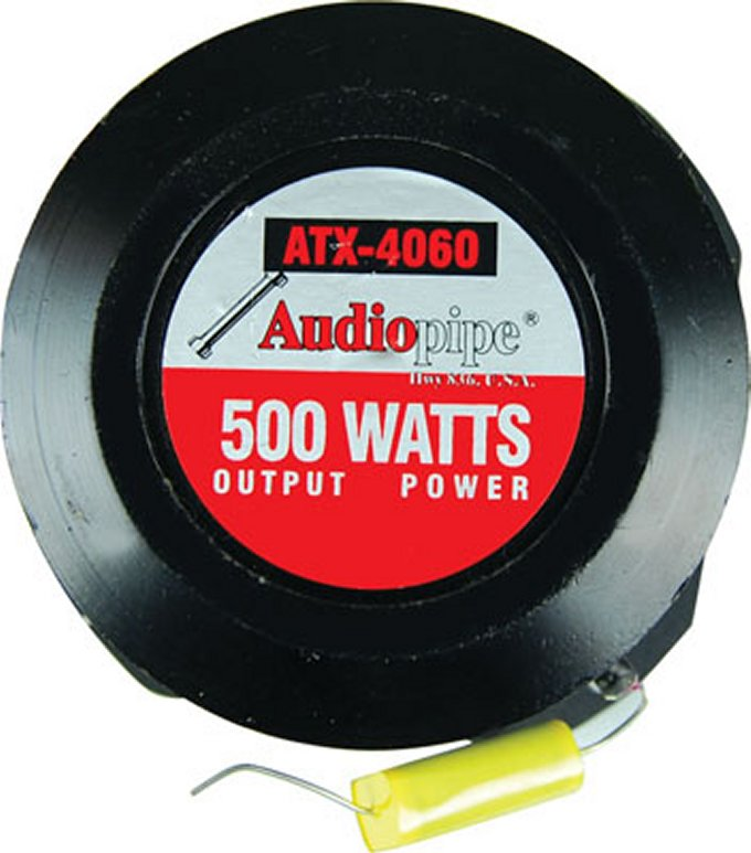 ATX4060�Audiopipe ATX-4060 3-Inch 1000W Titan Super Tweeter (Pair)