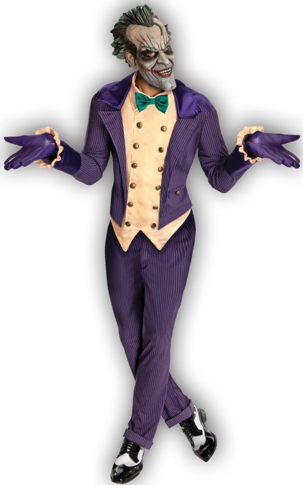 Joker Arkham City Adult Costume - Standard