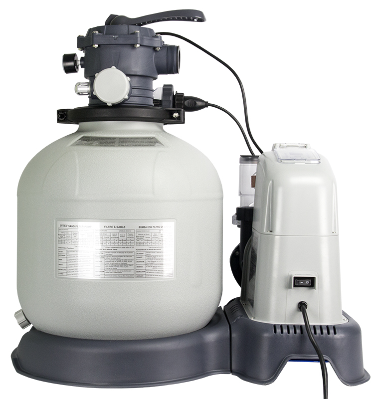 Intex 2650 GPH Saltwater System & Sand Filter Pump Set | 28681EG (56681EG)