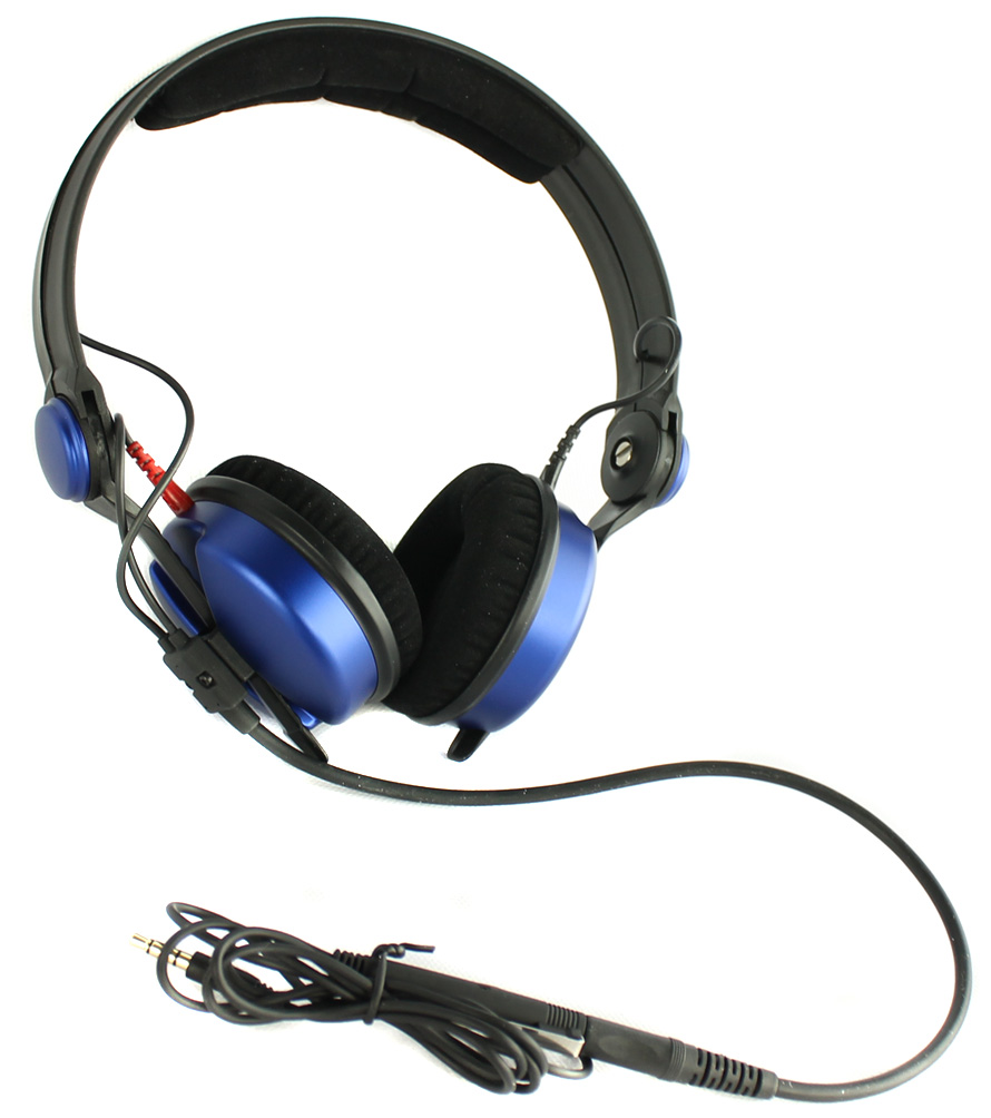 AMPBLUE-RB�Sennheiser HD 25 Amperior DJ Pro Monitoring Headphones - Blue (Refurbished)