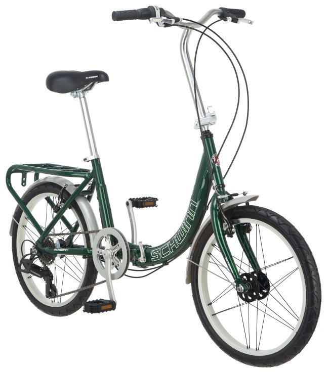 "S2280A�Schwinn Loop 20"" Compact Alloy Folding Bike 