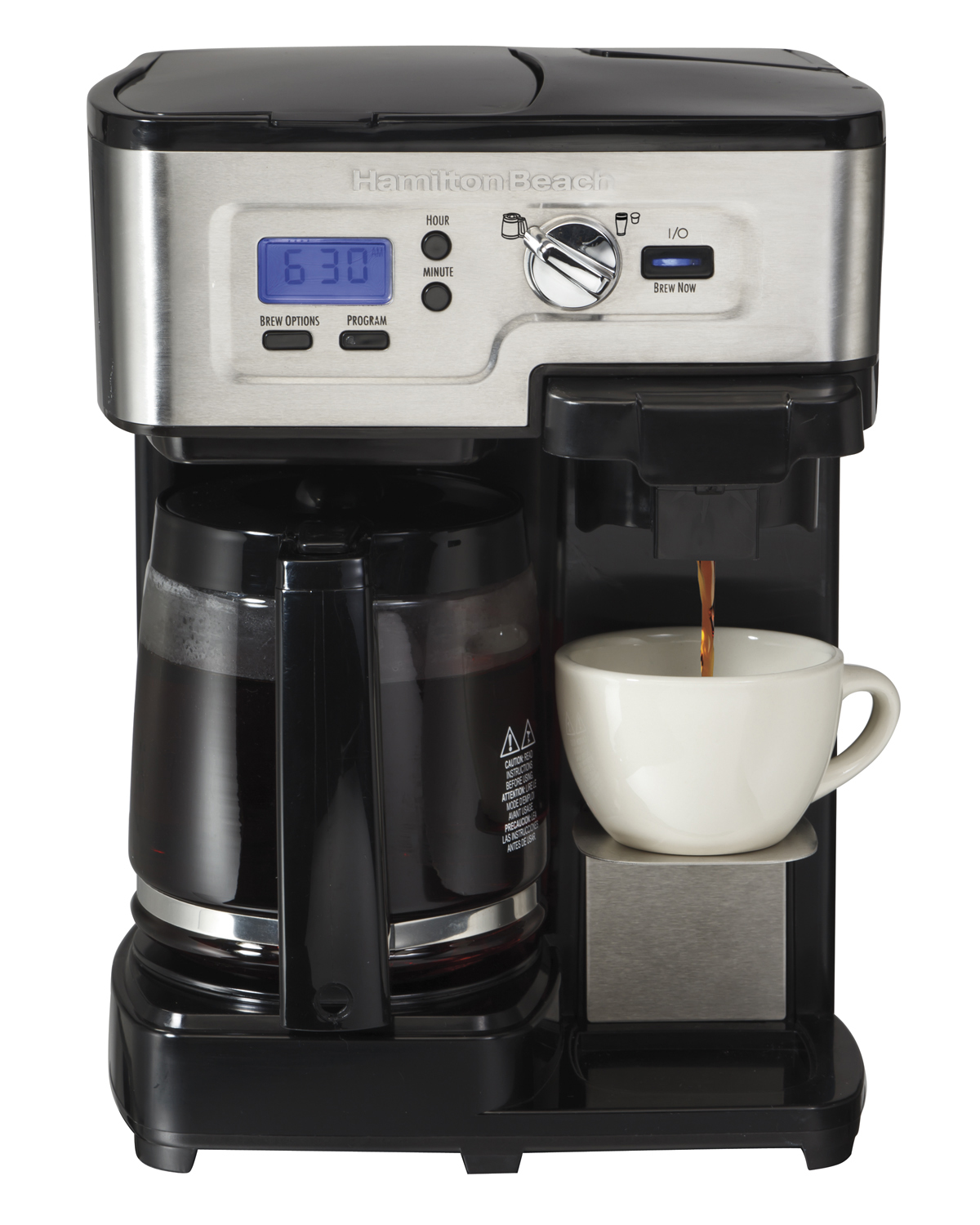 49983�Hamilton Beach 2-Way FlexBrew Coffee Maker | 49983