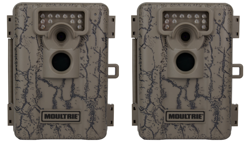 Moultrie A5 Game Spy Low-Glow Infrared Digital Trail Cameras (5 MP) (Pair)