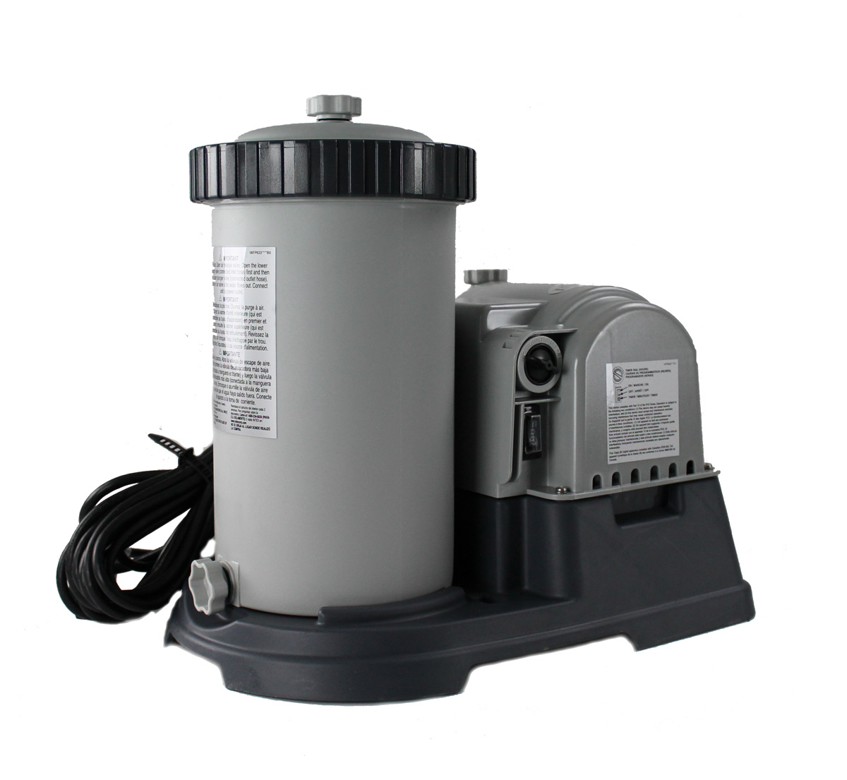 Intex 2500 GPH Filter Pump w/ Timer & GFCI
