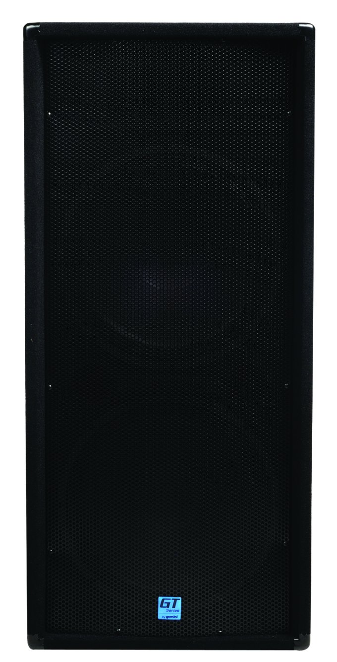 "GT-3004-RB�Gemini GT-3004 - (2) 15"" 2400W Portable DJ Dual Trapezoid Club Speakers (Refurbished)"