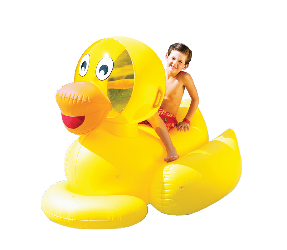 Swimline 9062 Inflatable Giant Ducky Float