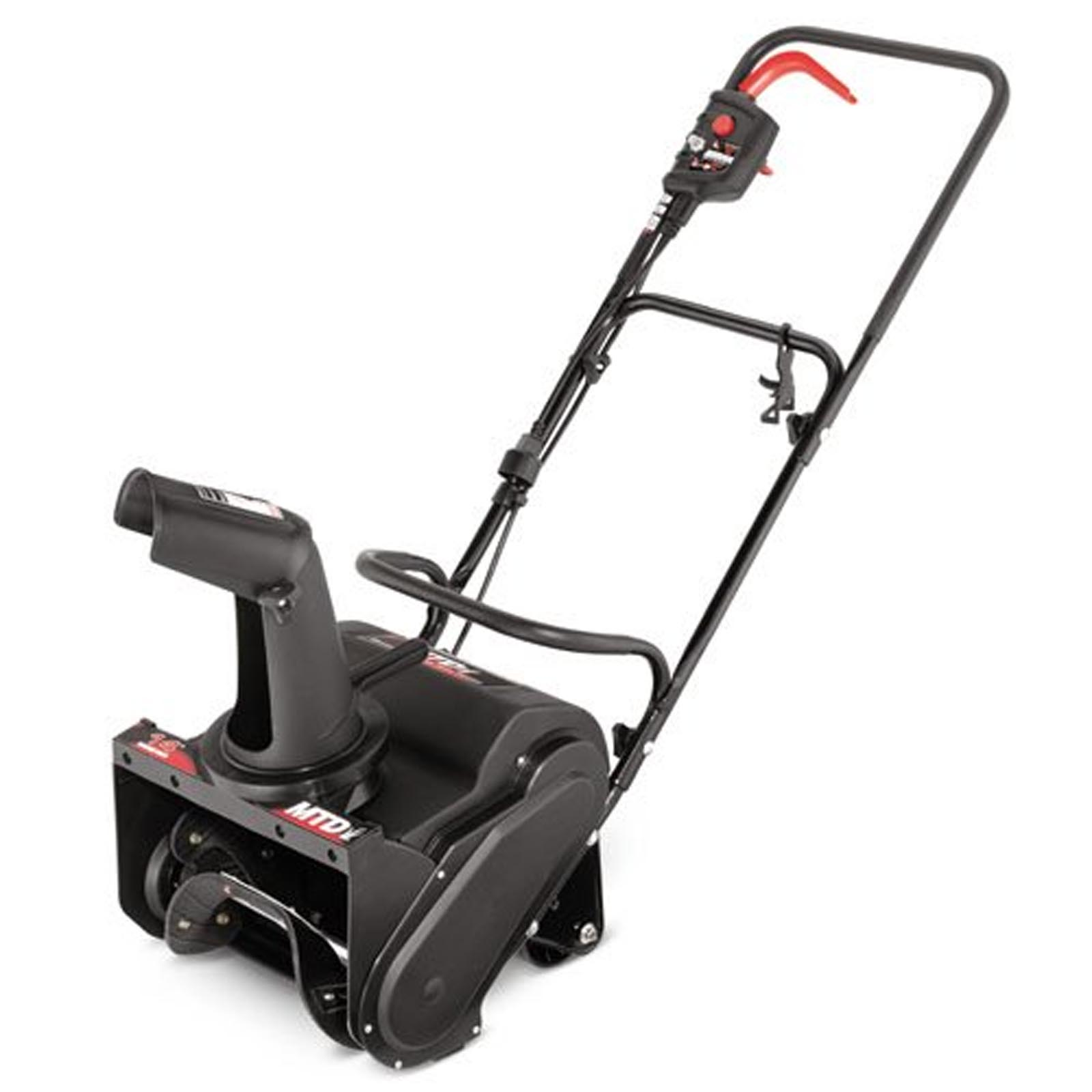 "MTD 14"" 11-Amp Electric Single Stage Snow Blower 