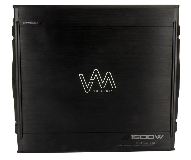 VM Audio SRA1500.1 1500W Mono Car Amplifier