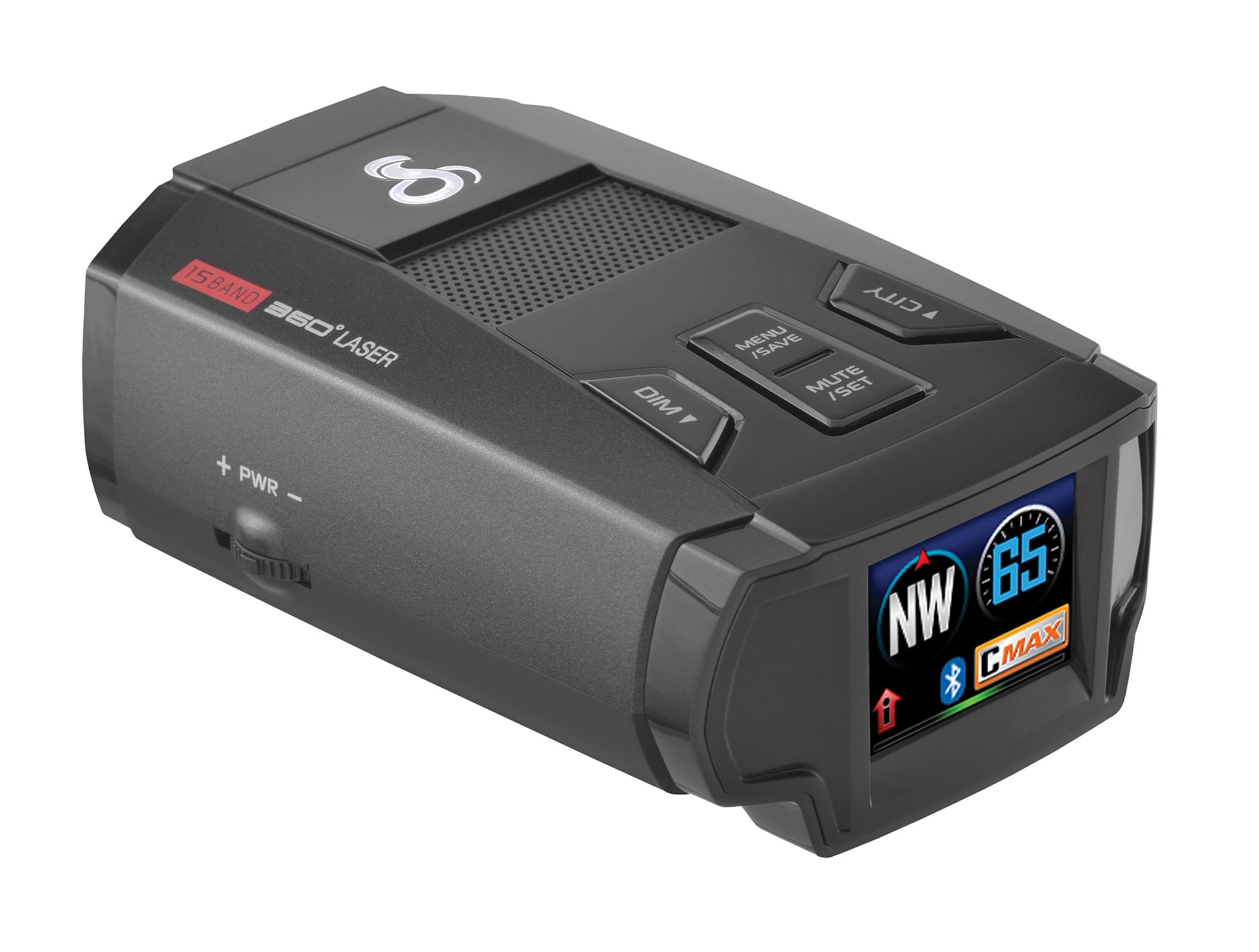Cobra Max Performance Radar Laser Camera Detector | SPX 7800BT