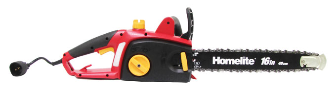 "ZR43120�Homelite UT43120 16"" 12-Amp Electric Chainsaw (Refurbished)"