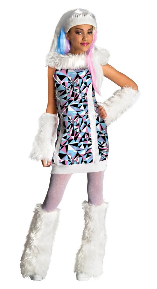 Abbey Bominable Monster High Girls Costume | Large