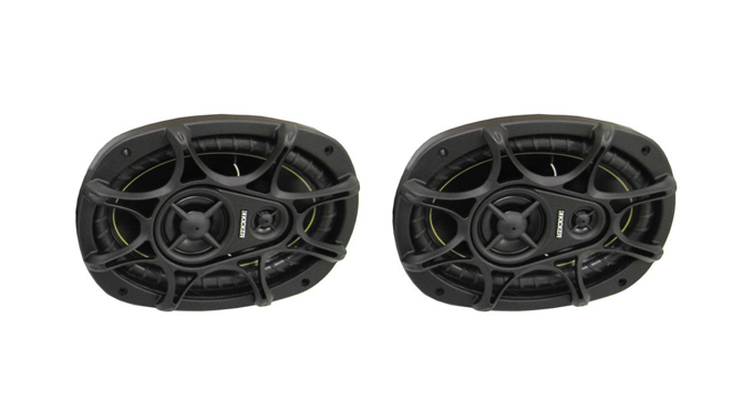 "11DS693 + 11DS65�KICKER DS693 6x9"" 280W 3-Way Car Speakers (Pair) + DS65 6.5"" 2-Way Speakers (Pair)"